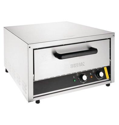 Buffalo Pizza Oven RVS   Geschikt voor max 450mm Pizza's   2kW   585x700x(H)365mm