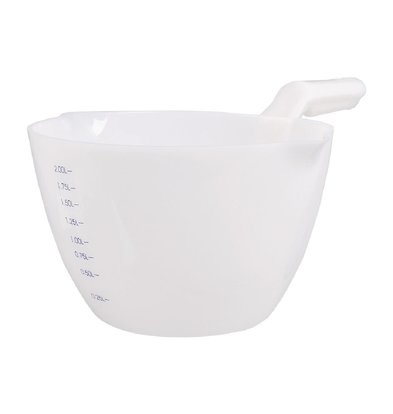 Schneider Polypropylene microwave pan 2 liters with size indication
