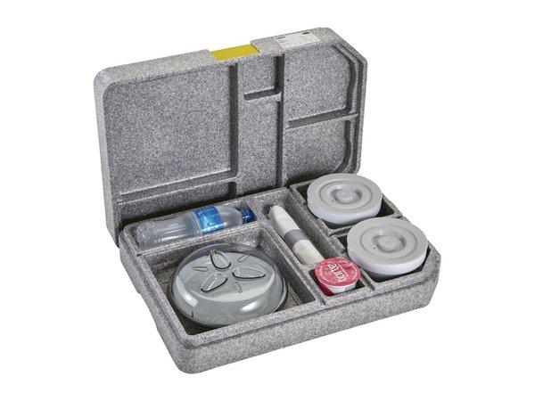 Cambro Cam Gobox Maaltijdbezorgingssysteem Inclusief Servies | 370x530x(H)118mm