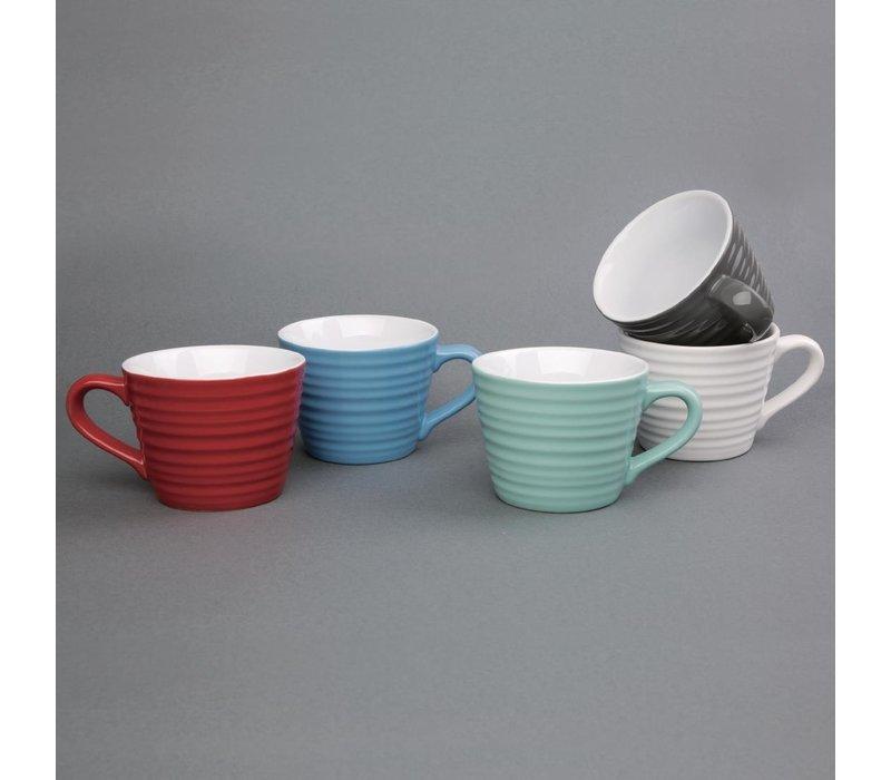 Olympia Café Mokken | 23cl | Oven-, Magnetron- en Vaatwasmachinebestendig | 6 Stuks | Beschikbaar in 5 Kleuren