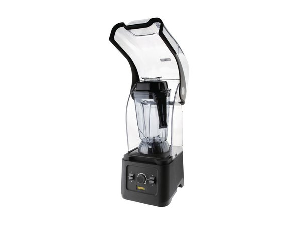 Buffalo Blender 2,5 Liter | Geluiddempende Kap | Variabele Snelheid | 1,68kW | 253x236x(H)548mm