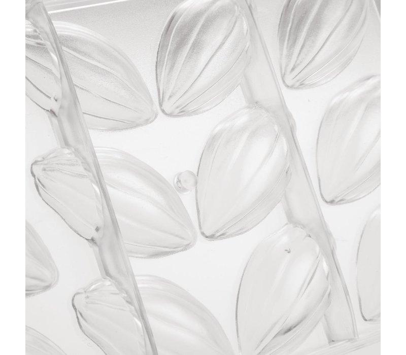 Schneider Cacaoboon Chocoladevorm | 12 Vormpjes | 74x38x(H)20mm