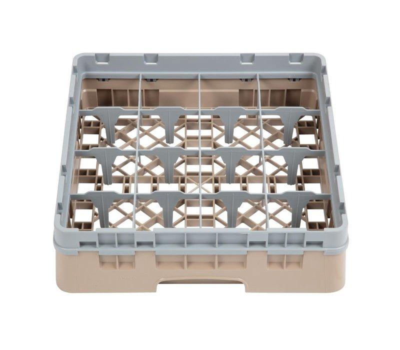 XXLselect Camrack Vaatwaskorf met 16 Compartimenten   Max Glashoogte 92mm