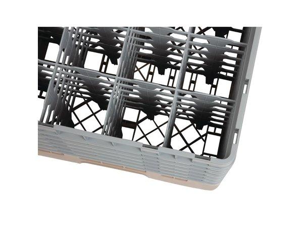 XXLselect Camrack Vaatwaskorf met 16 Compartimenten | Max Glashoogte 298mm