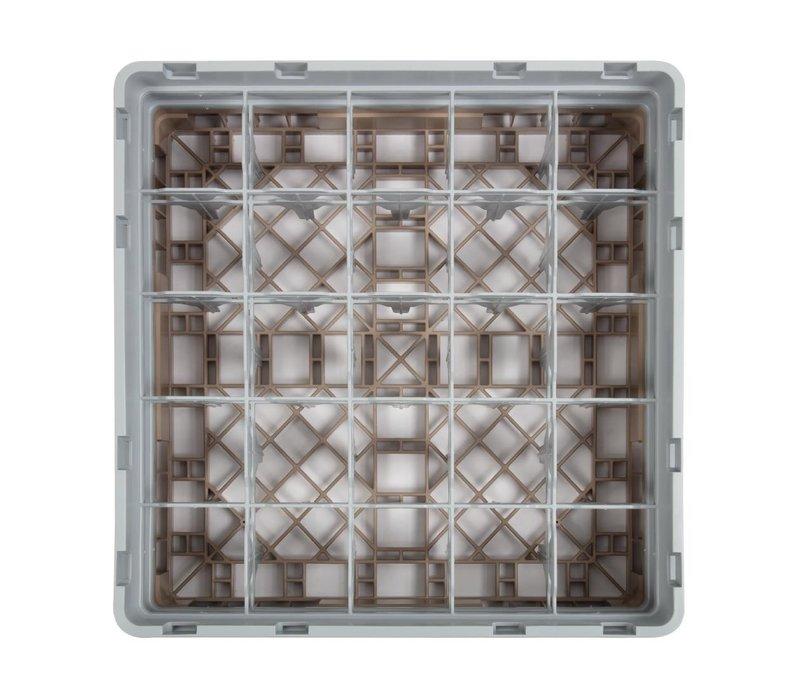XXLselect Camrack Vaatwaskorf met 25 Compartimenten | Max Glashoogte 133mm