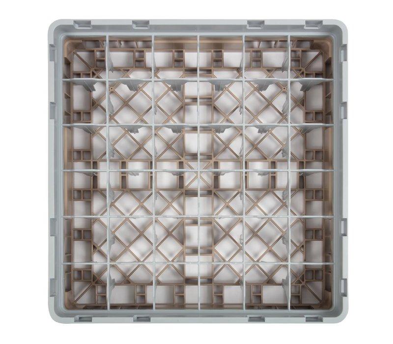 XXLselect Camrack Vaatwaskorf met 36 Compartimenten   Max Glashoogte 92mm