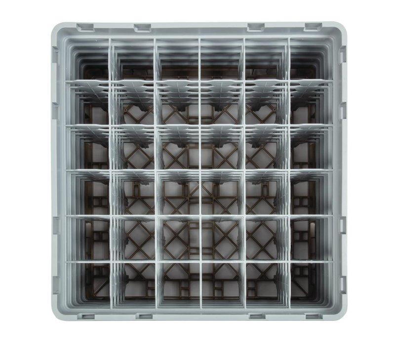 XXLselect Camrack Vaatwaskorf met 36 Compartimenten | Max Glashoogte 257mm