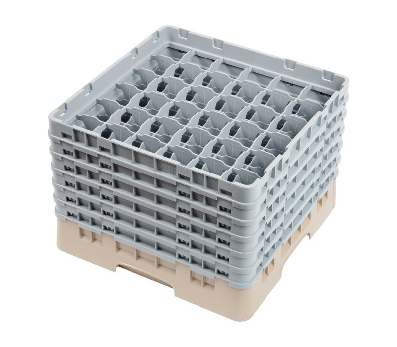 XXLselect Camrack Vaatwaskorf met 36 Compartimenten | Max Glashoogte 298mm