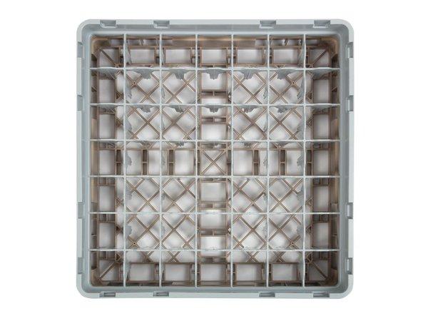 XXLselect Camrack Vaatwaskorf met 49 Compartimenten | Max Glashoogte 92mm