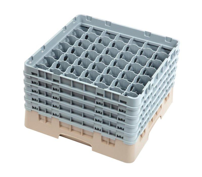 XXLselect Camrack Vaatwaskorf met 49 Compartimenten | Max Glashoogte 257mm