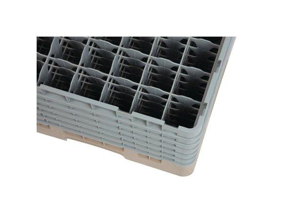 XXLselect Camrack Vaatwaskorf met 49 Compartimenten | Max Glashoogte 298mm
