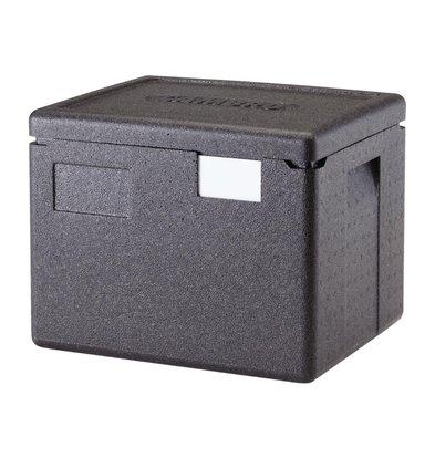 Cambro GoBox geïsoleerde voedselcontainer 22,3 Liter | Voor 1x GN 1/2 bak van 200mm diep
