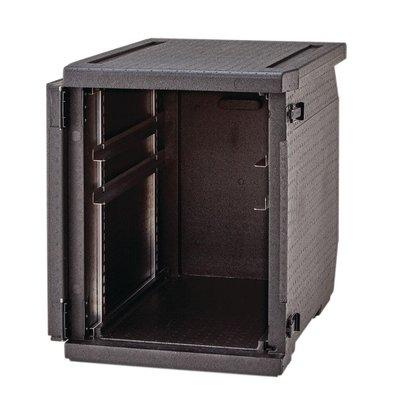 Cambro GoBox Geïsoleerde Voedselcontainer 155 Liter | Verstelbare rails | Geschikt voor 60x40 kratten