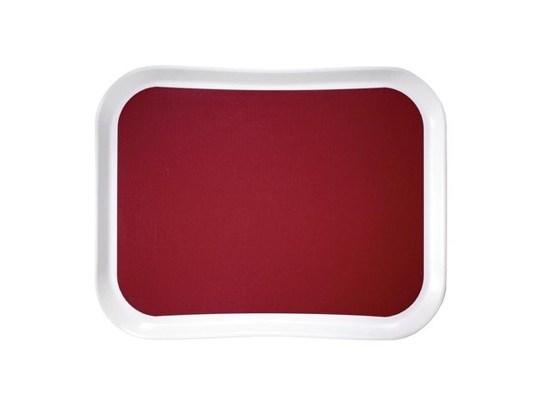 Cambro Versa Lite Polyester Dienblad Rood | 430x330mm
