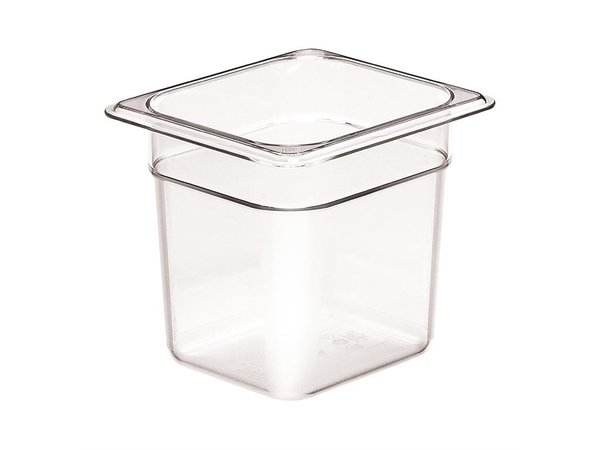 Cambro BPA Vrije 1/6GN Bak | Beschikbaar in 3 Dieptes