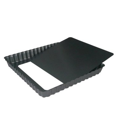 De Buyer Square Cake Pan | Non-stick with loose bottom Available in 2 sizes