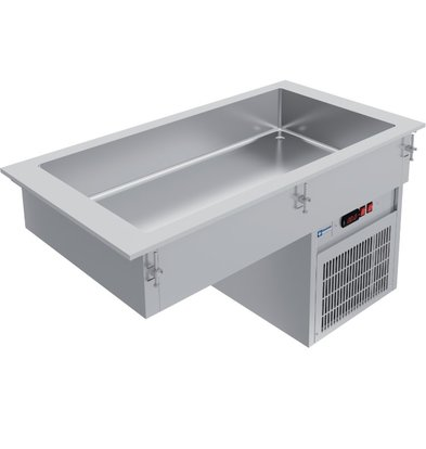 Diamond Drop In Chilled Tub 3x GN 1/1 | Cooling by Spiral Evaporator | 1115x610x (H) 632mm