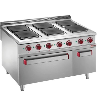 Diamond Electric Cooker | Electric Oven 6 Hot plates 26kW | 1200x900x (H) 850 / 920mm