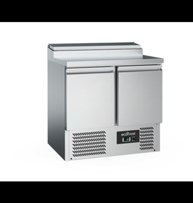 Ecofrost Saladette 2 Doors | 240 liters | 900x700x (H) 970mm