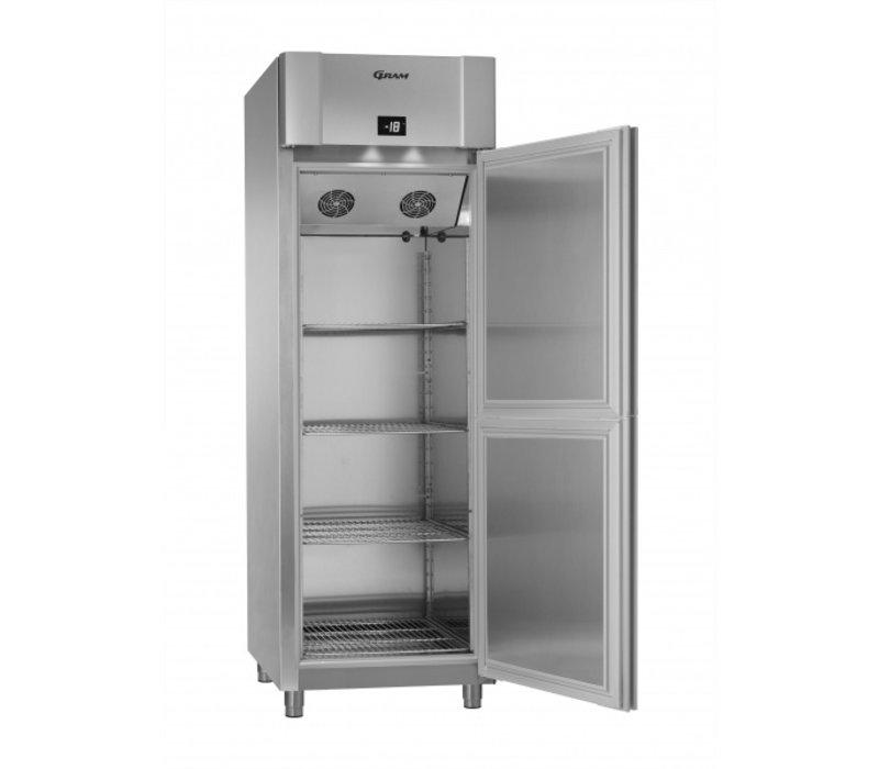 Gram 2 Half Doors Freezer | ECO PLUS F 70 CCG HD L2 4N | 700x905x (H) 2125mm
