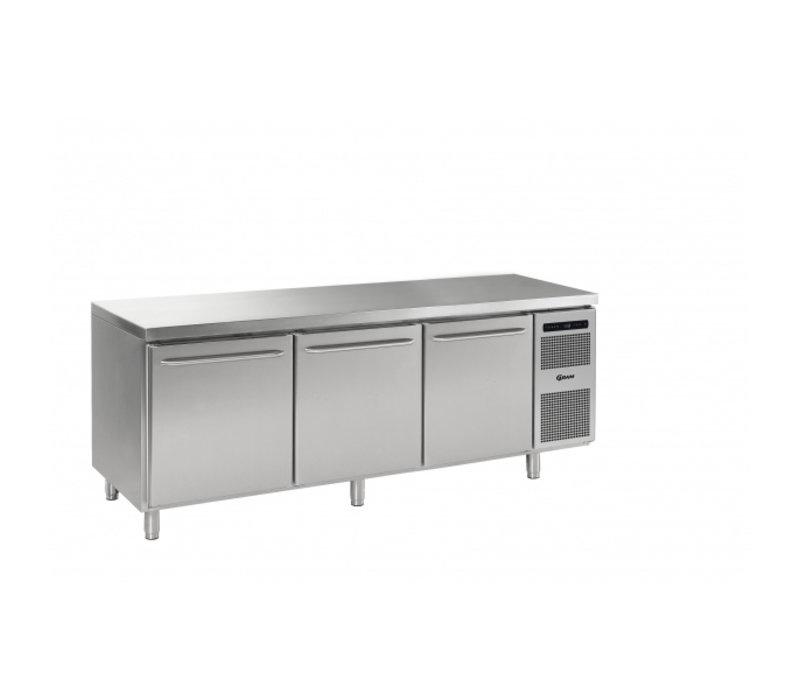 Gram Gastro 08 Koelwerkbank 3 Deurs |GASTRO M 2408 CSG A DL DL DR L2 | 2340x800x(H)885/950mm