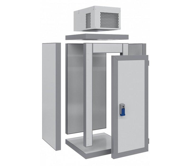 Combisteel Mini Koelcel | Complete Set | -5/+5°C | 1000x1000x(H)2615mm