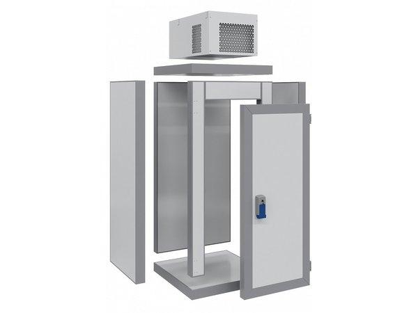 Combisteel Mini Vriescel   Complete Set   <-18°C   1000x1000x(H)2615mm