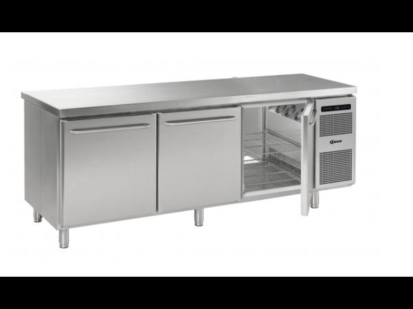 Gram Gastro 08 Koelwerkbank 3 Deurs Aan beide Zijden | GASTRO K 2408 D CSG A DL DL DR L2 | 2340x870x(H)885/950mm