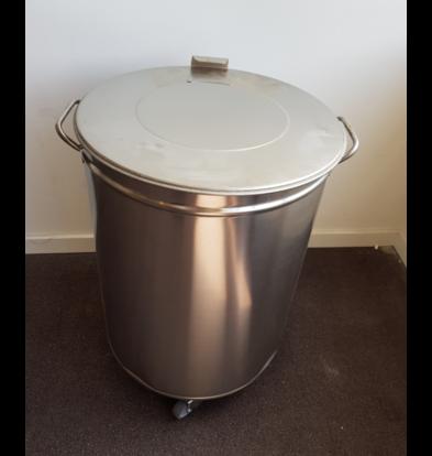 Gastro M SHOWMODEL | Afvalemmer | 100 Liter | Op wielen