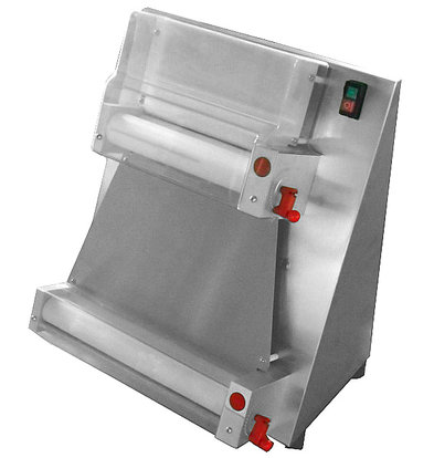 Saro Dough rolling machine stainless steel   Dough 100-400mm, Thickness: 0.5-5.5mm   530x530x650 (h) mm