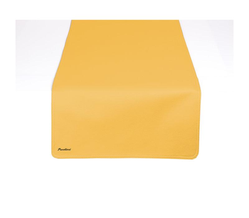 Pavelinni Leren Tafelloper Classic | Enkelzijdig | 450x1200mm | Beschikbaar in 7 Kleuren