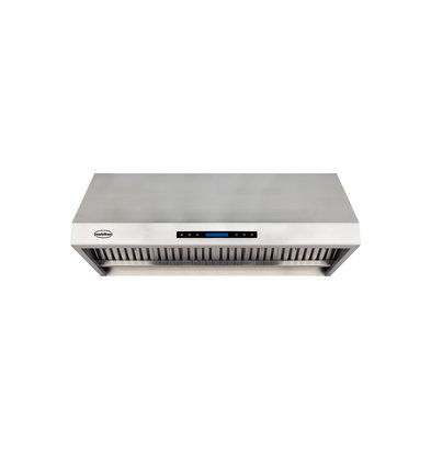 Combisteel Complete Model Extractor Hood Stainless steel 430 | 4 Filters | 1200x630x457mm | 1680 m³ p / h