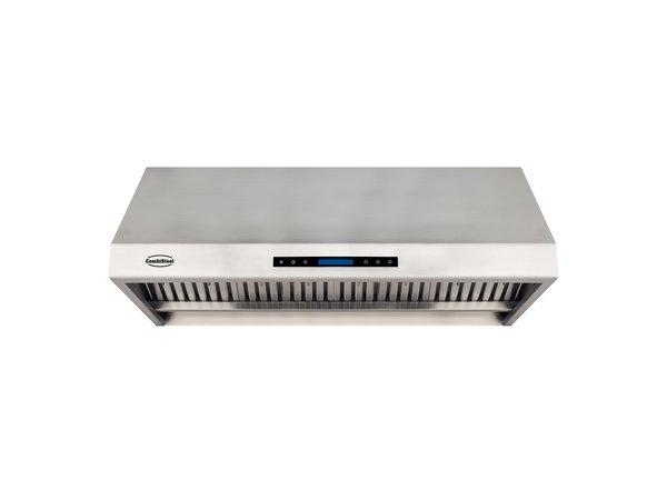 Combisteel Afzuigkap  Compleet Model | RVS 430 | 4  Filters | 1200x630x457mm  | 1680m³ p/u