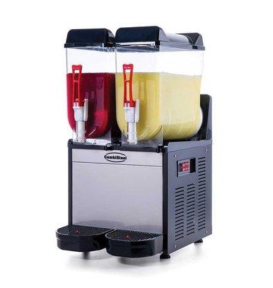 Combisteel Slush Puppy Machine | 2x 12 liters | 390x530x (H) 780mm