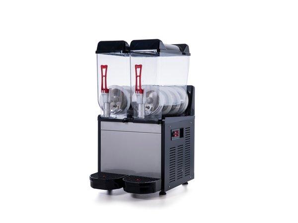 Combisteel Slush Puppy Machine   2x 12 Liter   390x530x(H)780mm