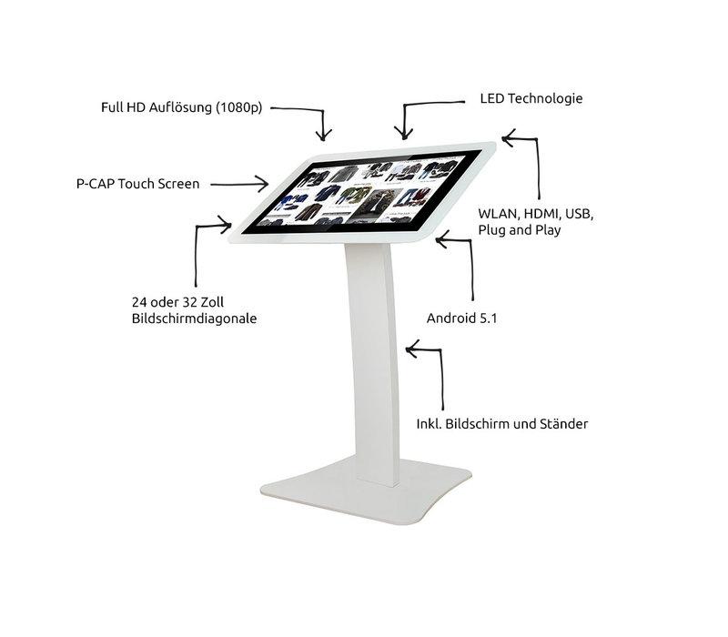 Mydisplays Digitale Informatie Terminal Met Touchscreen  | Full HD-resolutie | Beschikbaar in 2 Maten