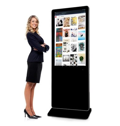 Mydisplays Digital Information Terminal Stele | With Touchscreen | Full HD resolution