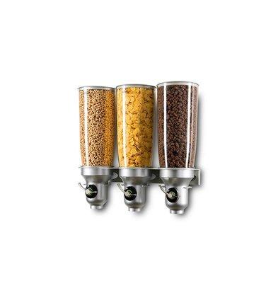 Lineoplus Free Flow Dispenser | Muurmodel | 3x 5 Liter | 465x155x500mm