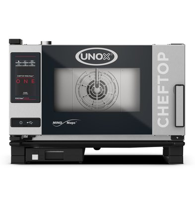 Unox Combisteamer One Electric Combi Oven | XEVC-0311-E1R | 3 x GN 1/1 | 400V | 750x773x538 (h) mm