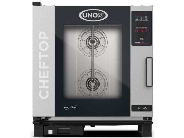 Unox Combisteamer One Electric Combi Oven | XEVC-0711-E1R | 7 x GN 1/1 | 400V | 750x773x843 (h) mm