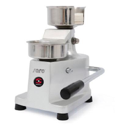 Saro Manual Hamburger Press Suitable for Ø100mm | 235x230x (H) 275mm