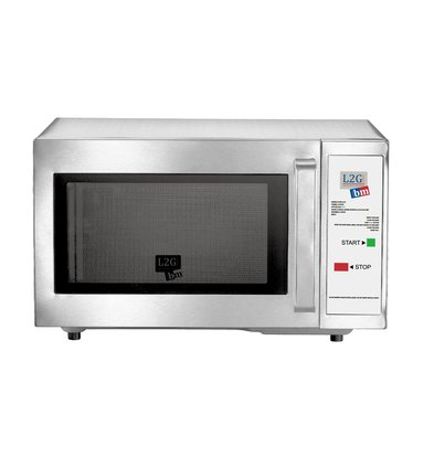 Saro Self Service Microwave | 25 liters | 1000W | Programmed at 45 Seconds