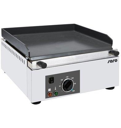 Saro Grillplaat Elektrisch | Keramische Coating | 3 kW | 395x450x(H)225mm