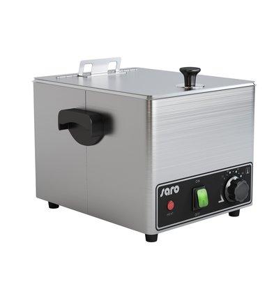 Saro Worstenwarmer met Rooster | 4,6 Liter | 0,9 kW | 260x320x(H)260mm