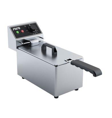 Saro Elektrische Friteuse 4 Liter | 3,25 kW | 183x420x(H)280mm