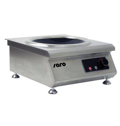 Saro Inductie Wok | 8 kW | 400x487x(H)217mm