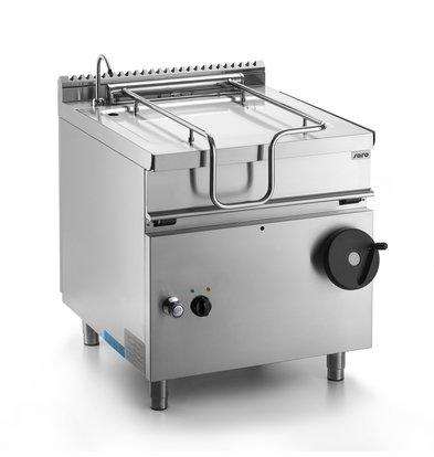 Saro Kantelbare Braadpan Elektrisch | 50 Liter | 8,7kW | 800x700x(H)850mm