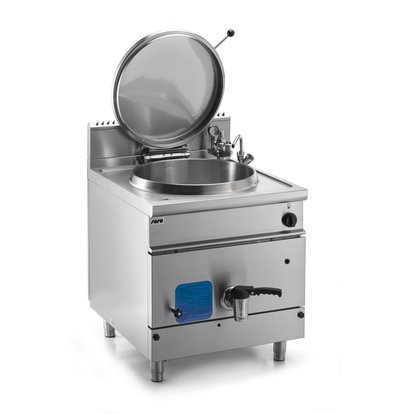 Saro Gas Boiling kettle 150 liters | 21 kW | 800x900x (H) 850mm