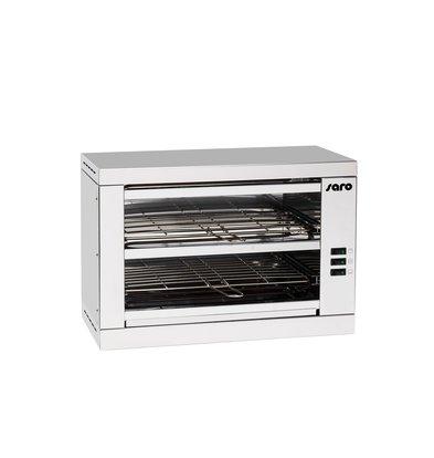 Saro Toaster 2 Niveaus  1,6 kW   490x250x(H)560mm