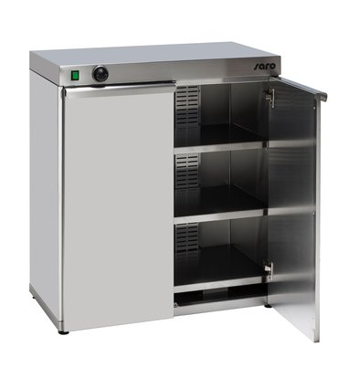 Saro Double Plate warmer | 120 Signs 1.5 kW | 800x460x (H) 570mm
